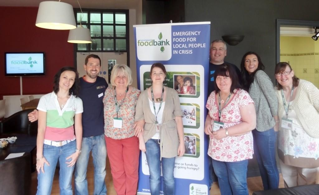 The Foodbank and Angel team