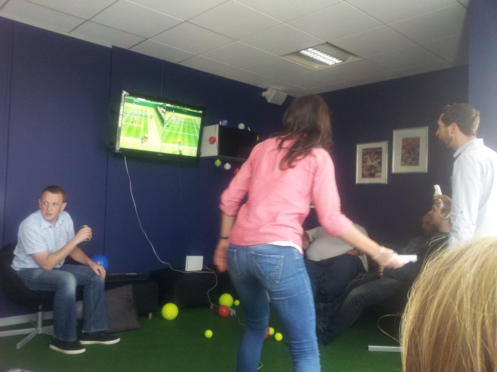 Wii Tennis Tournament