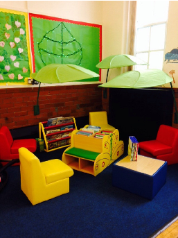 The Reading Corner by the end of the day