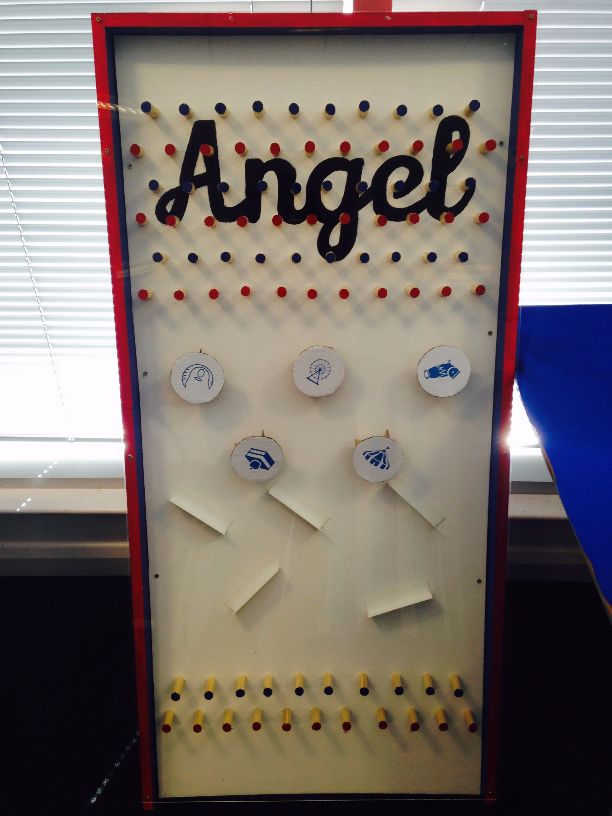 The charity box is coming together!