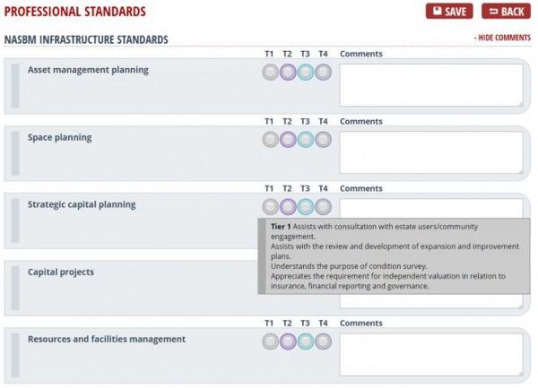 NASBM standards